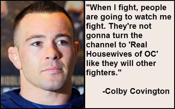 Inspirational Colby Covington Quotes