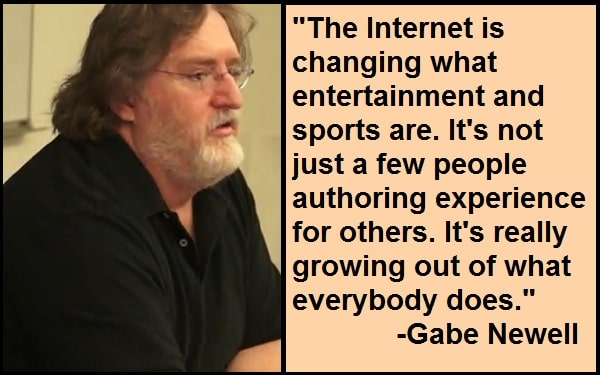 Inspirational Gabe Newell Quotes