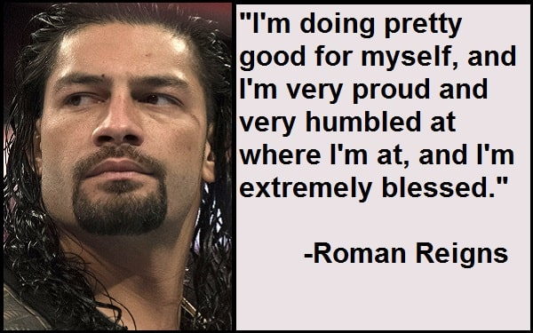Inspirational Roman Reigns Quotes
