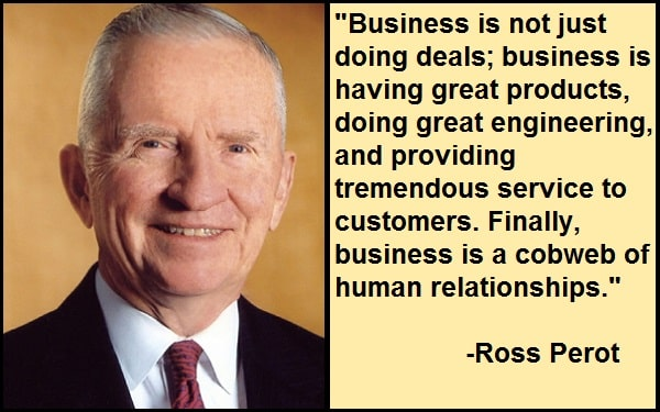 Inspirational Ross Perot Quotes And Sayings