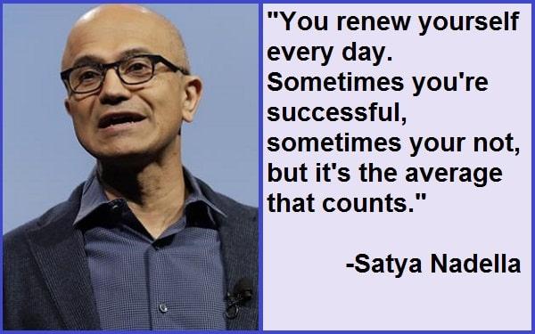 Inspirational Satya Nadella Quotes