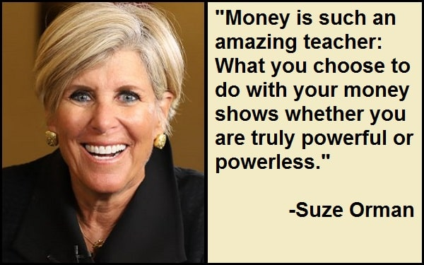 Inspirational Suze Orman Quotes