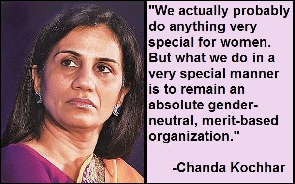 Inspirational Chanda Kochhar Quotes