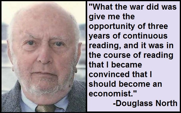 Inspirational Douglass North Quotes