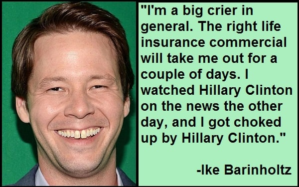 Inspirational Ike Barinholtz Quotes