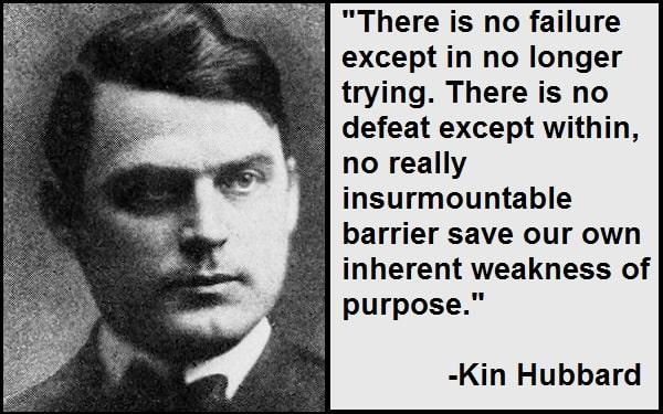 Inspirational Kin Hubbard Quotes