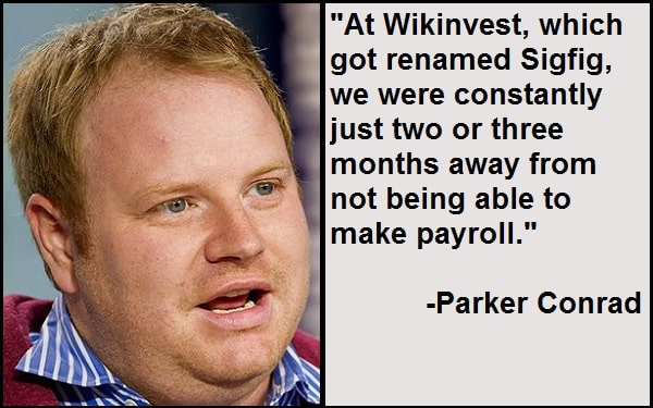 Inspirational Parker Conrad Quotes