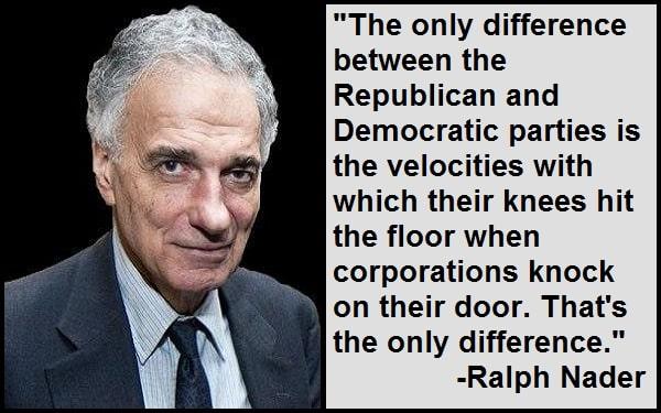 Inspirational Ralph Nader Quotes