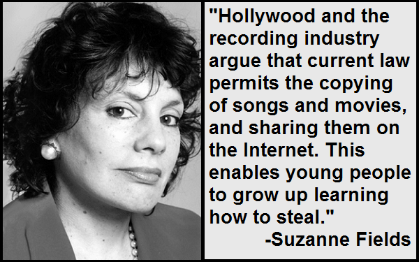 Inspirational Suzanne Fields Quotes