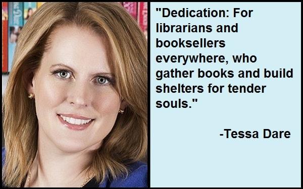 Inspirational Tessa Dare Quotes