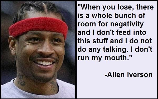 Inspirational Allen Iverson Quotes