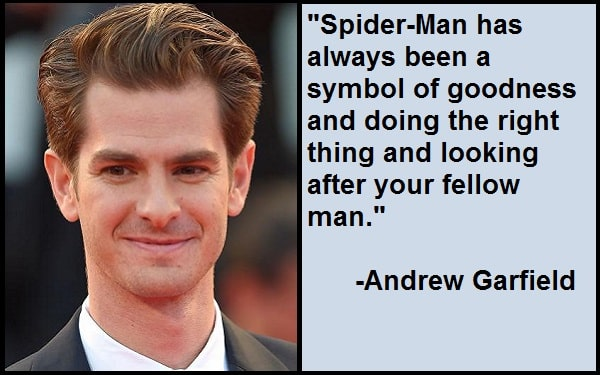 Inspirational Andrew Garfield Quotes