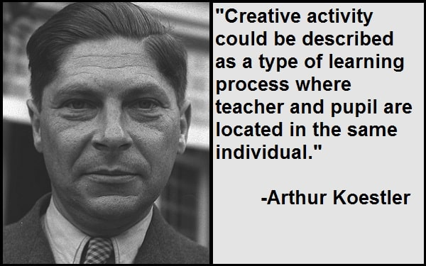 Inspirational Arthur Koestler Quotes