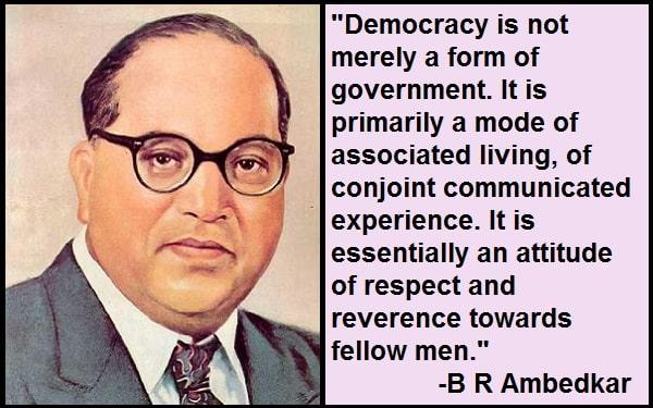 Inspirational B R Ambedkar Quotes