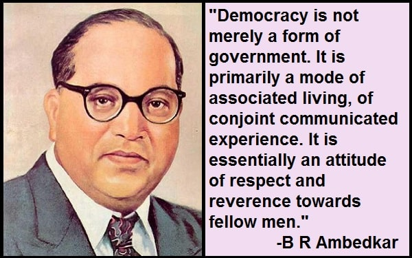 Inspirational B R Ambedkar Quotes