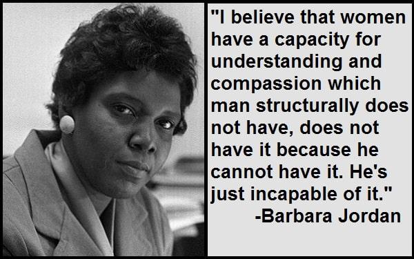 Inspirational Barbara Jordan Quotes