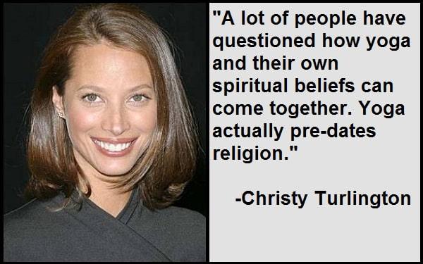 Inspirational Christy Turlington Quotes