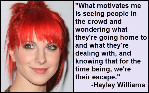 Inspirational Hayley Williams Quotes