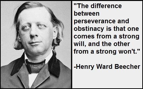 Inspirational Henry Ward Beecher Quotes