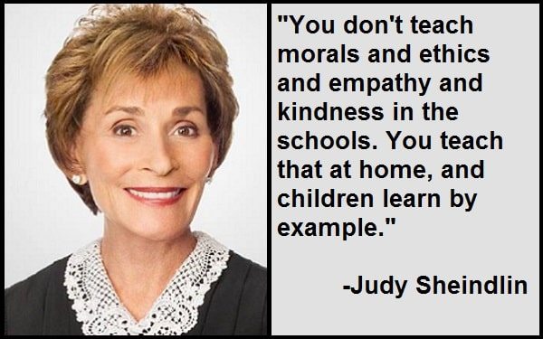 Inspirational Judy Sheindlin Quotes