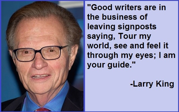Inspirational Larry King Quotes