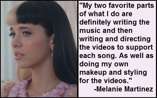 Inspirational Melanie Martinez Quotes