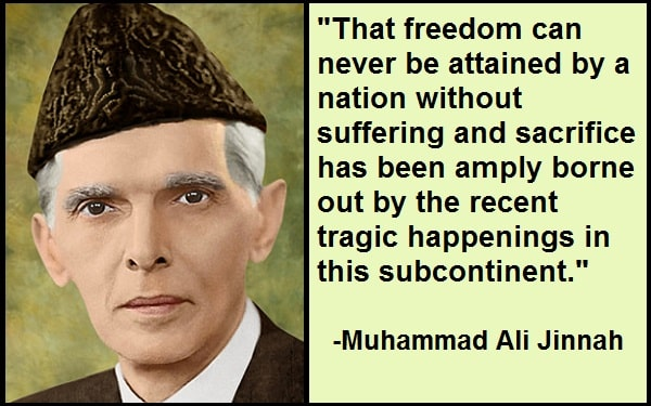 Inspirational Muhammad Ali Jinnah Quotes