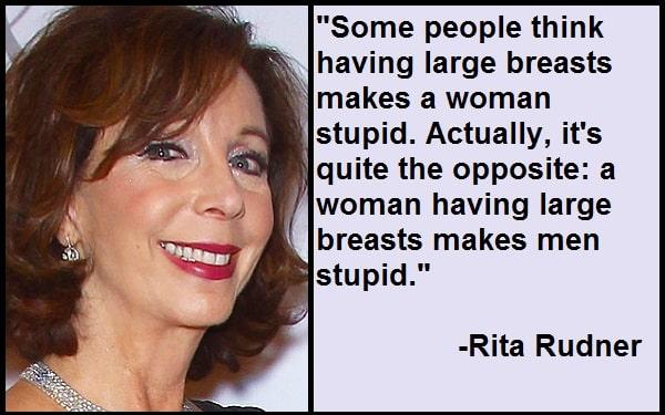 Inspirational Rita Rudner Quotes