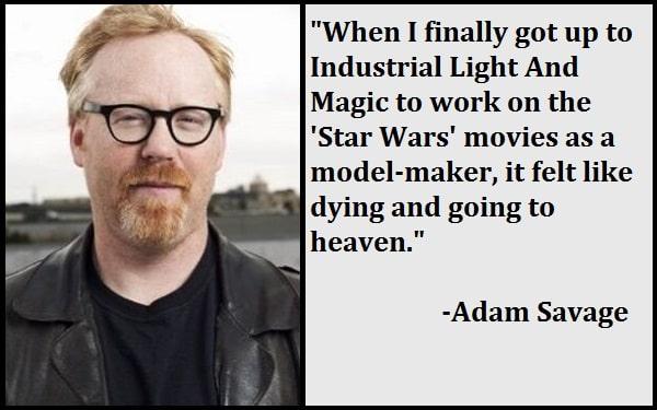 Inspirational Adam Savage Quotes