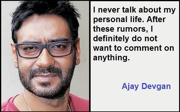 Inspirational Ajay Devgan Quotes