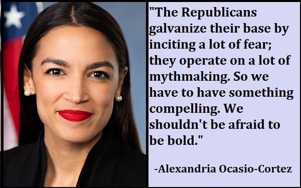 Inspirational Alexandria Ocasio-Cortez Quotes
