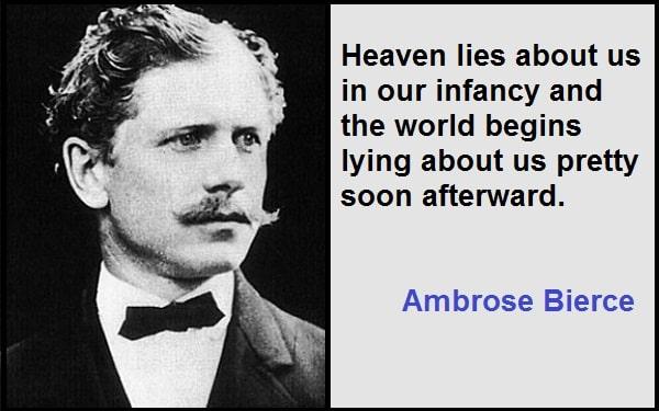 Inspirational Ambrose Bierce Quotes