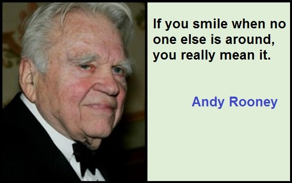 Inspirational Andy Rooney Quotes