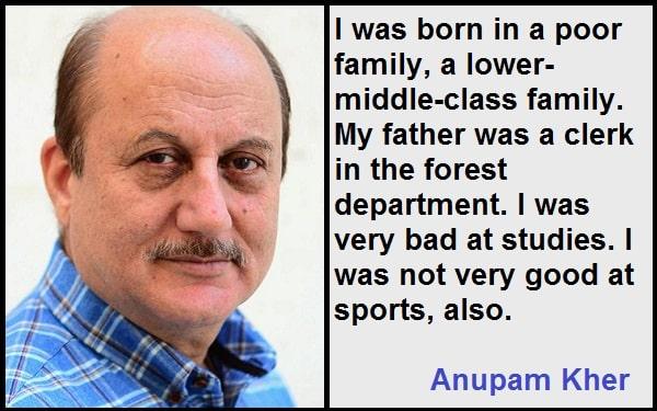 Inspirational Anupam Kher Quotes