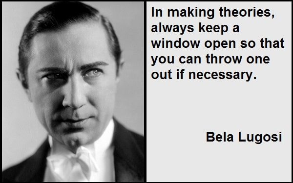 Inspirational Bela Lugosi Quotes