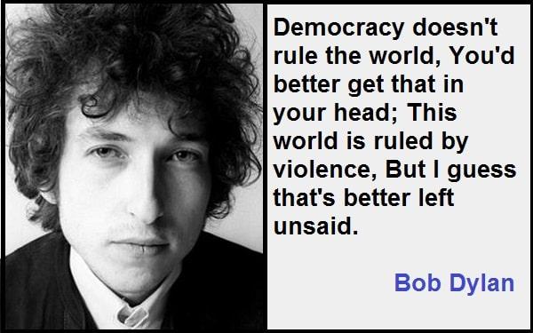 Inspirational Bob Dylan Quotes