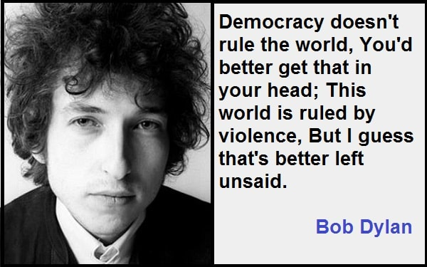 Inspirational Bob Dylan Quotes