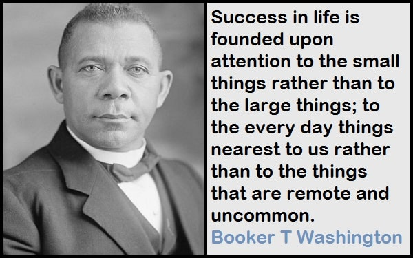 Inspirational Booker T Washington Quotes