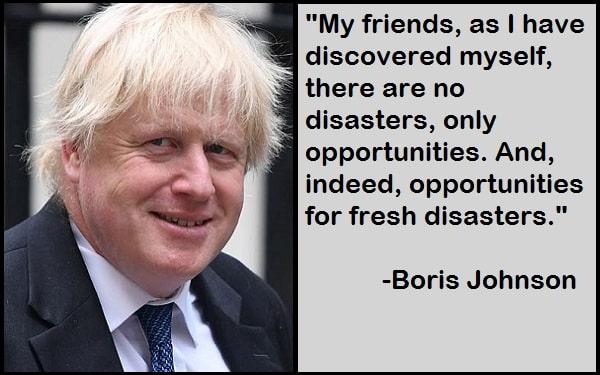 Inspirational Boris Johnson Quotes
