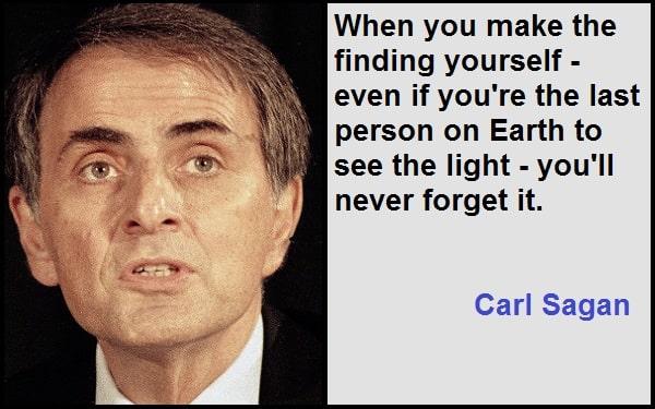 Inspirational Carl Sagan Quotes