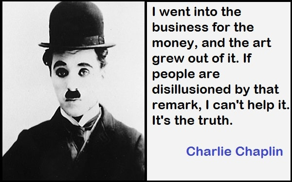 Inspirational Charlie Chaplin Quotes