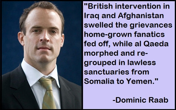 Inspirational Dominic Raab Quotes