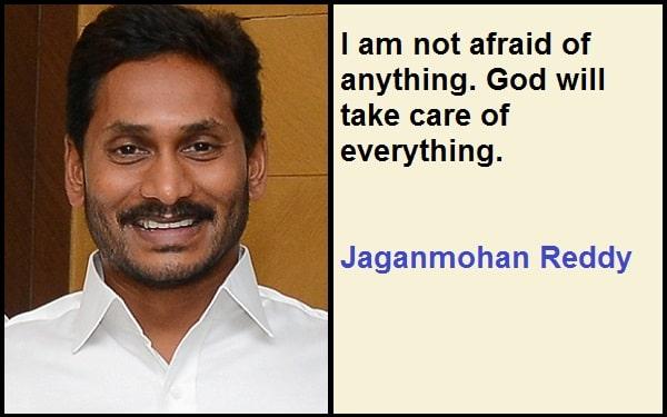 Inspirational Jaganmohan Reddy Quotes