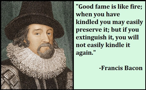 Inspirational Francis Bacon Quotes