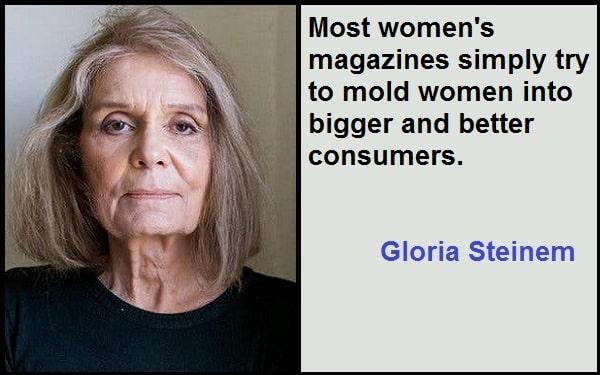 Inspirational Gloria Steinem Quotes