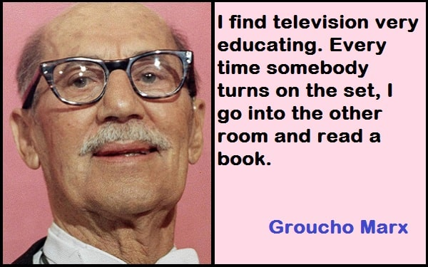 Inspirational Groucho Marx Quotes