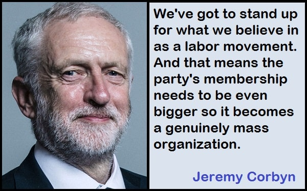 Inspirational Jeremy Corbyn Quotes