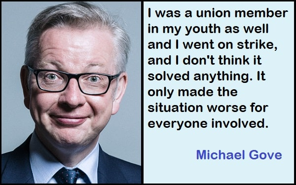 Inspirational Michael Gove Quotes
