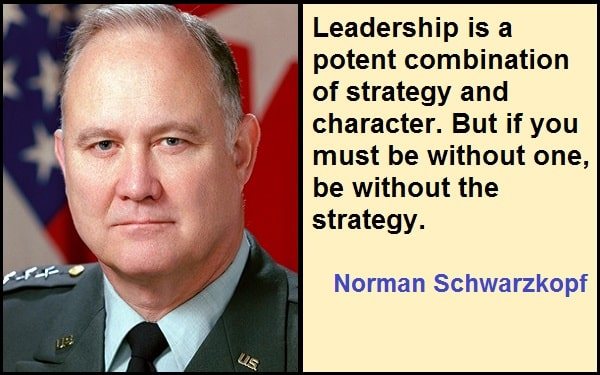 Inspirational Norman Schwarzkopf Quotes