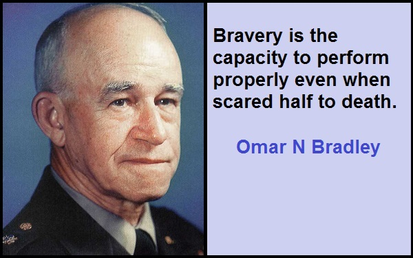 Inspirational Omar N Bradley Quotes